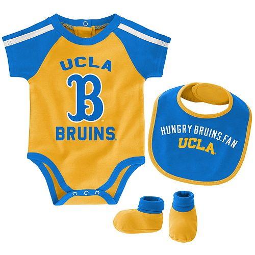 Baby Boy UCLA Bruins Tackle 3-Piece Bodysuit Set