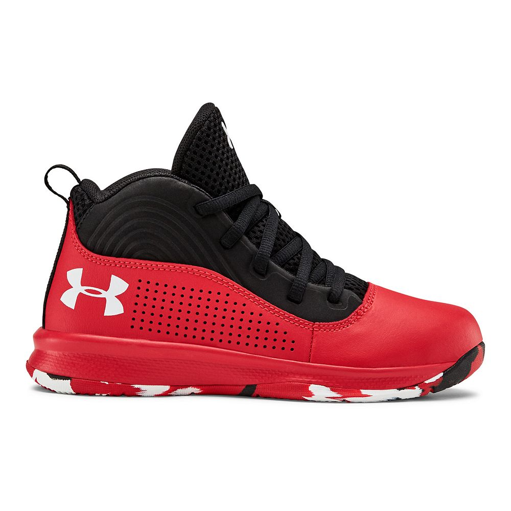 Under Armour Lockdown 4 Pre-School Kids' Basketball Shoes