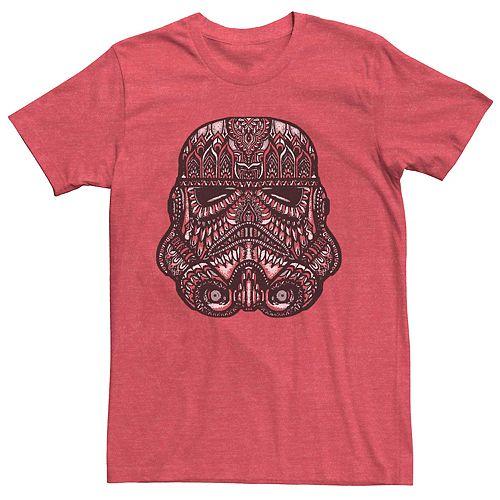 Men's Star Wars Stormtrooper Henna Pattern Fill Tee