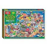 T.S. Shure - Map of Boston Jigsaw Puzzle, 200-Piece