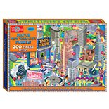 T.S. Shure - Map of New York City Jigsaw Puzzle, 200-Piece
