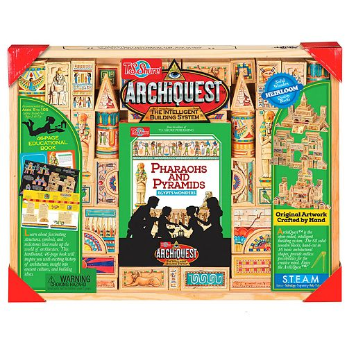 T.S. Shure ArchiQuest 68 Piece Pharaohs and Pyramids Egypt's Wonder
