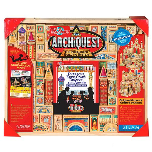 T.S. Shure ArchiQuest Deluxe World Fusion 218 Piece Pharaohs, Kinds, Czars, Dragons, and Arches