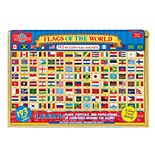 T.S. Shure Flags of the World Wooden Magnets