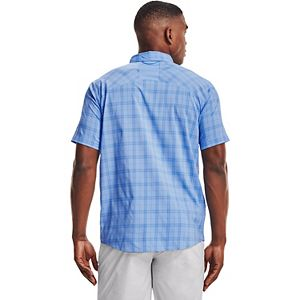 Men's Under Armour High Tide Plaid Button-Down Shirt