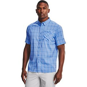 Men's Under Armour High Tide Plaid Button-Down Shirt