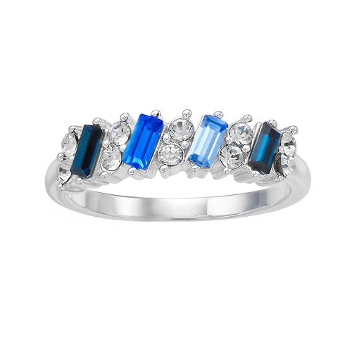 Brilliance Multicolor Crystal Ring with Swarovski Crystals