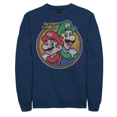 Men's Super Mario Bros. Sweatshirt