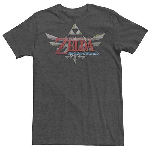 Men's Nintendo Legend Of Zelda Skyward Sword Logo Tee