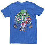 Men's Mario Kart Group Tee