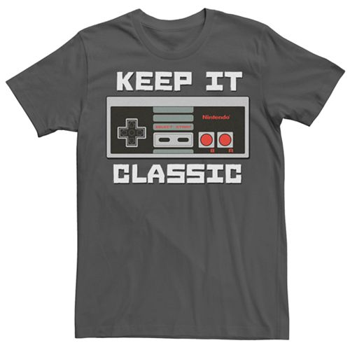 Men's Nintendo Keep It Classic Tee