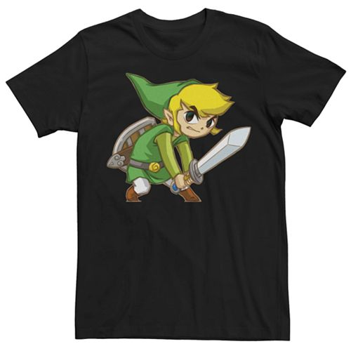 Men's Nintendo Legend Of Zelda Link Tee