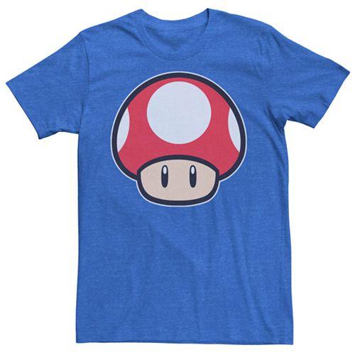 Men's Nintendo Mario Classic Red Mushroom Tee