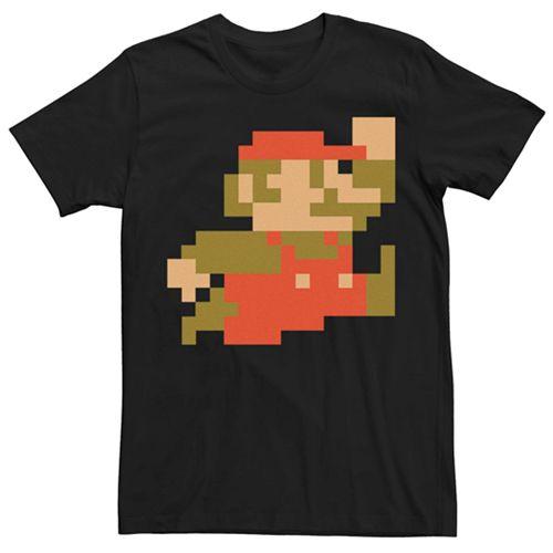 Men's Super Mario Pixel Tee