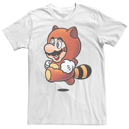 Men's Nintendo Super Mario Tanooki Suit Tee