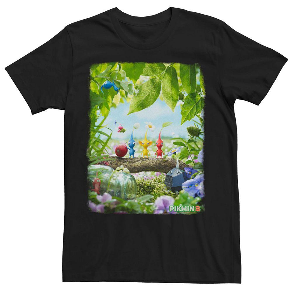 Men's Nintendo Pikmin 3 Short Sleeve Tee