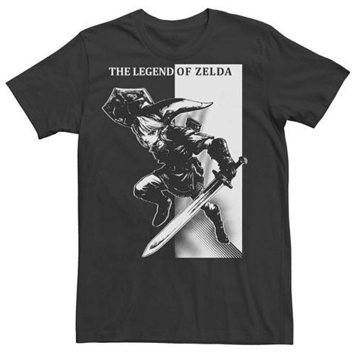 Men's Nintendo Legend Of Zelda Tonal Link Short Sleeve Tee