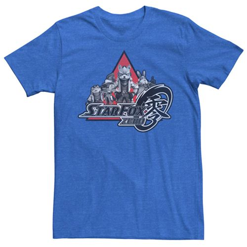 Men's Nintendo Star Fox Zero Team Short Sleeve Tee