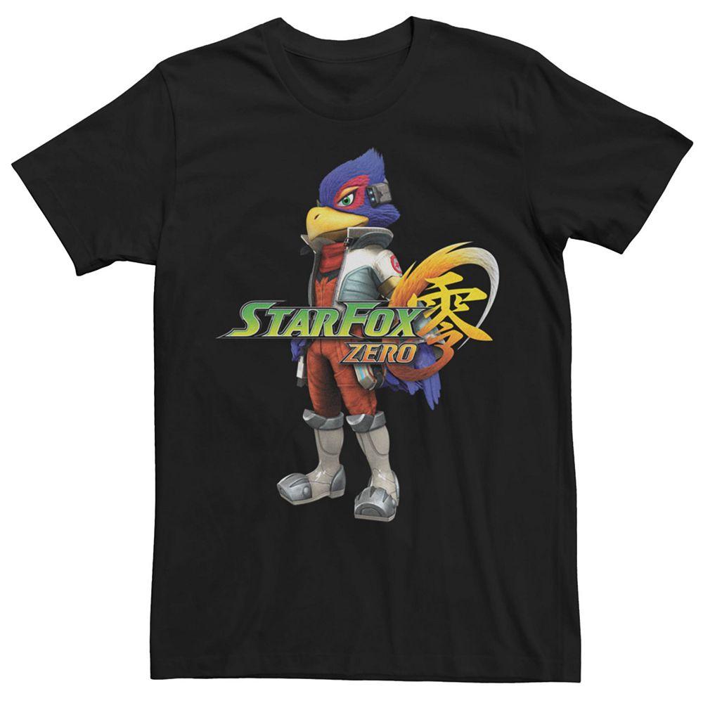 Men's Nintendo Star Fox Zero Falco Short Sleeve Tee