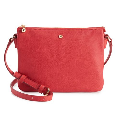 LC Lauren Conrad Candide Crossbody Bag