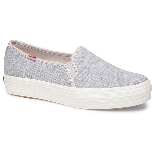 best sneakers 35154 2769f Keds Triple Decker Pique Women's Slip-on Platform Sneakers