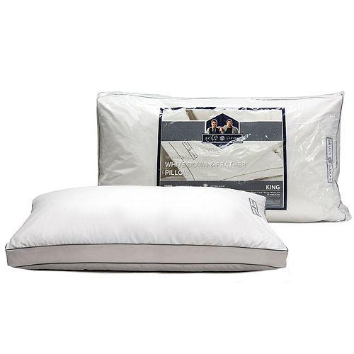 Scott Living White Down Gusseted Pillow