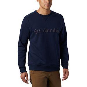Big & Tall Columbia Omni-Wick Logo Fleece Crewneck Pullover
