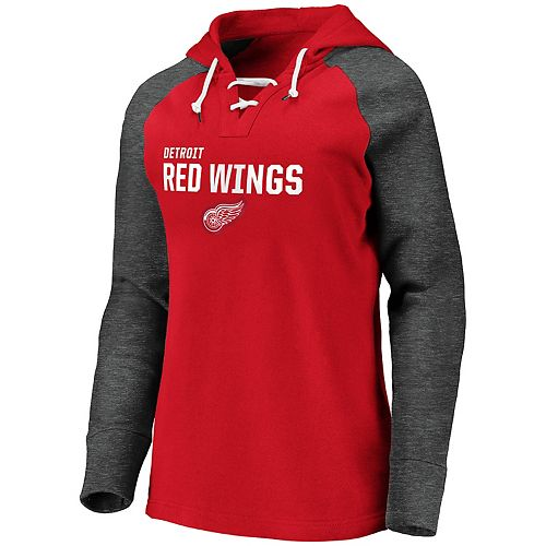 Women's Detroit Red Wings Fleece Pullover Hoodie