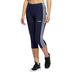 f93bcd81b5f0dc Women's adidas Essential 3-stripe Midrise Capri Leggings. clearance