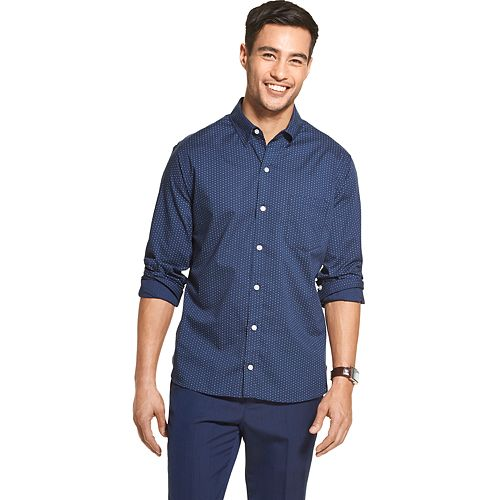 Men's Van Heusen Never Tuck Classic Fit Shirt