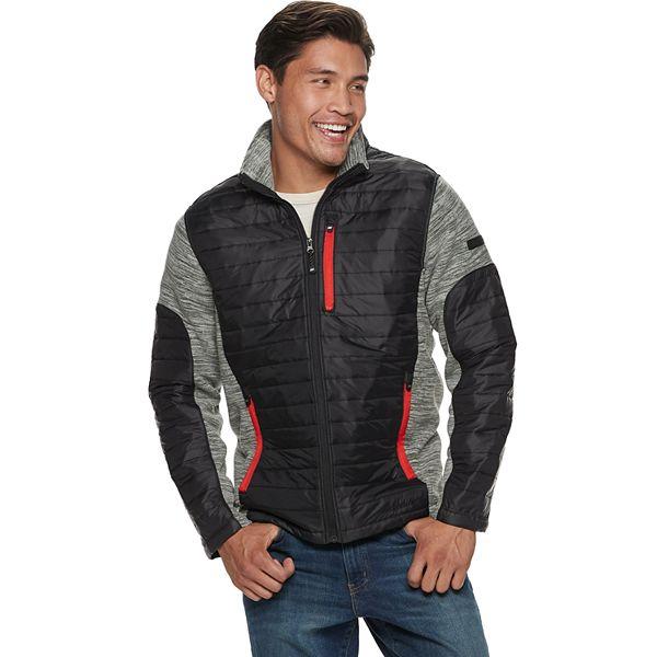 Cabeza exprimir cepillo  Men's Skechers® Modern-Fit Fleece Mixed Media Jacket