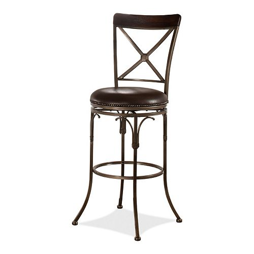 Hillsdale Furniture Atkins Swivel Counter Stool