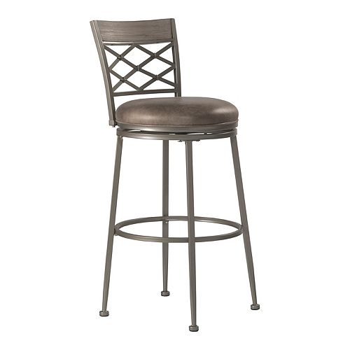 Hillsdale Furniture Hutchinson Swivel Bar Stool