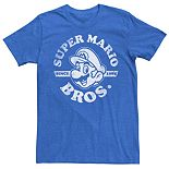 Young Men's Nintendo Super Mario Bros Since 1981 Vintage Tee