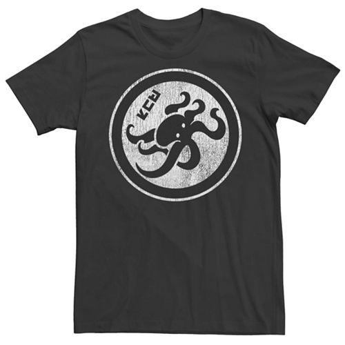 Men's Nintendo Splatoon Kanji Octopus Short Sleeve Tee