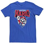 Men's Nintendo Super Mario Team Mario Short Sleeve Tee