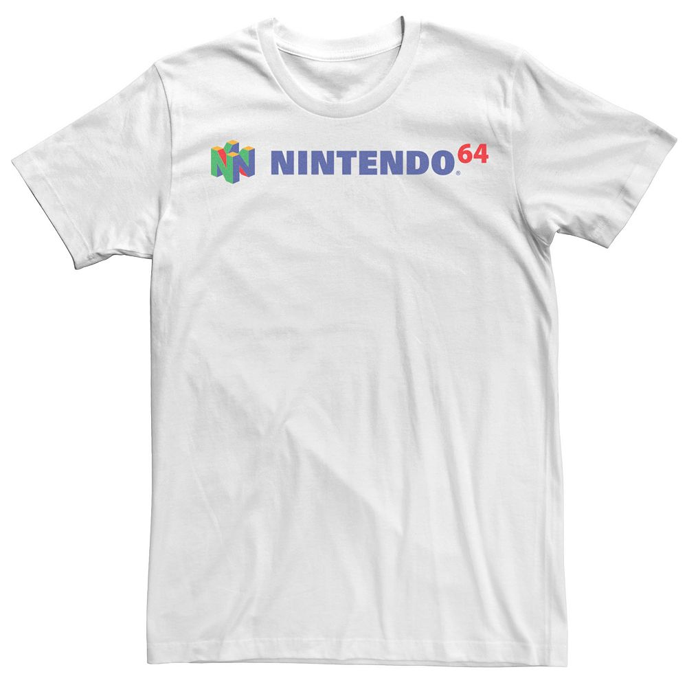 Men's Nintendo 64 Simple Logo Tee