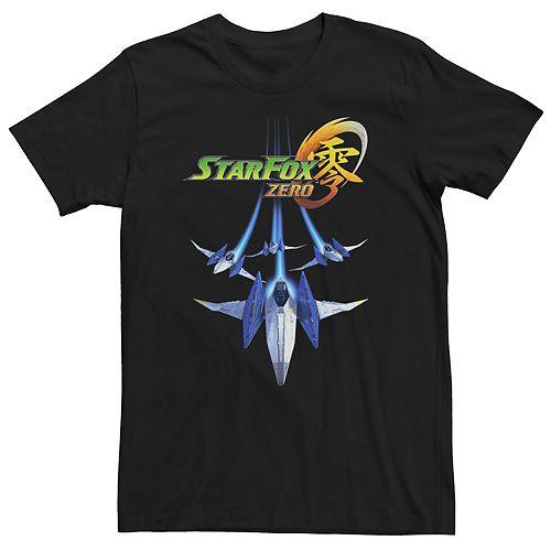 Men's Nintendo Star Fox Zero Squad Formation Short Sleeve Tee