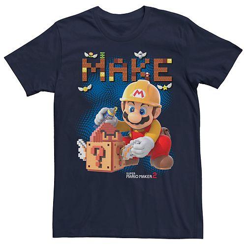 Men's Nintendo Super Mario Maker 2 Imagination Short Sleeve Tee