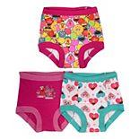Toddler Girl Sesame Street 3 Pack Training Briefs