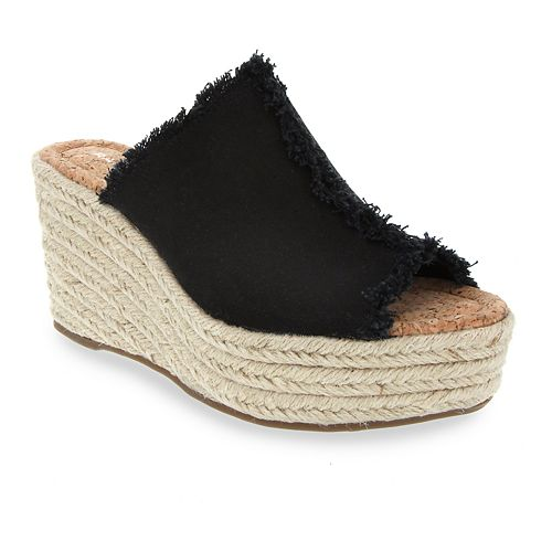 Rampage Espadrille Women's Wedge Sandal