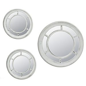Enchante Accessories 3-Piece Wheel Mirror Set