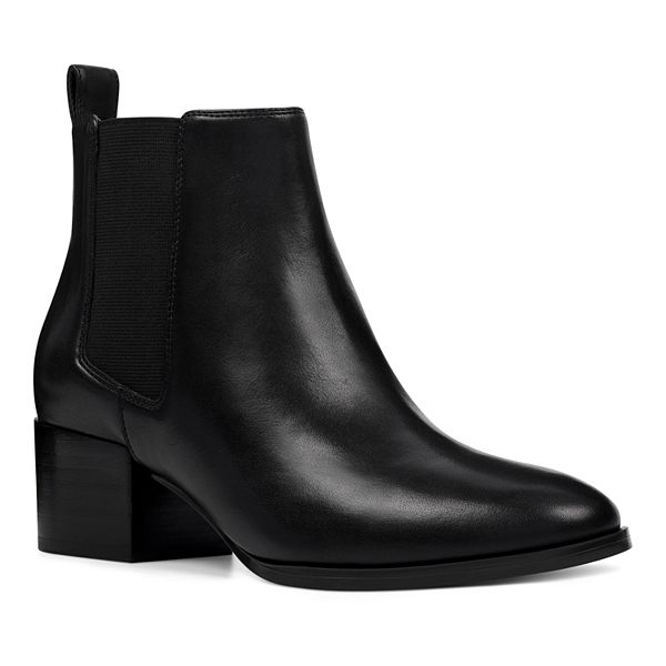 Leather Ladies Ankle Boots