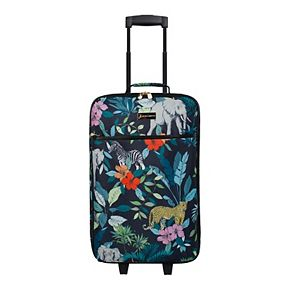Jessica Simpson 5-Piece Printed Luggage Set