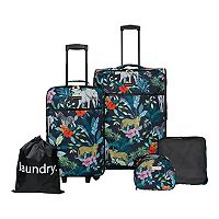 Jessica Simpson 5-Piece Printed Luggage Set Deals