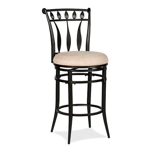 Hillsdale Furniture Hudson Swivel Counter Height Stool