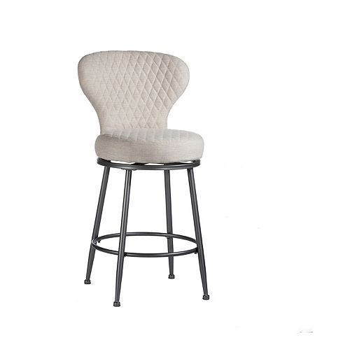 Hillsdale Furniture Melange Upholstered Stool