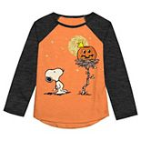 Girls 4-12 Jumping Beans® Snoopy Halloween Tee