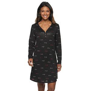 Women's SONOMA Goods for Life® Henley Sleepshirt
