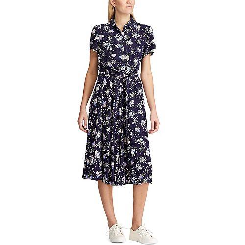 Women's Chaps Floral Shirt Dress